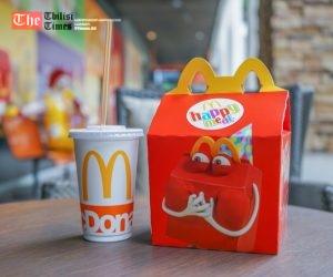 აშშ-ში McDonald's-მა საბავშვო მენიუდან ჩიზბურგერი ამოიღო