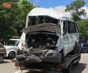 გომბორზე მომხდარი ავარიის შედეგად 4 ადამიანი დაიღუპა და 16 დაშავდა